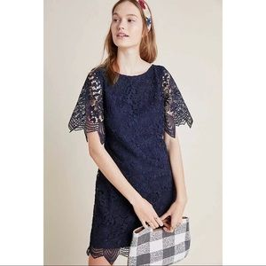 NWT! Anthropologie Charleston Lace Mini Dress